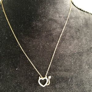 Jewelry - Necklace and heart pendant